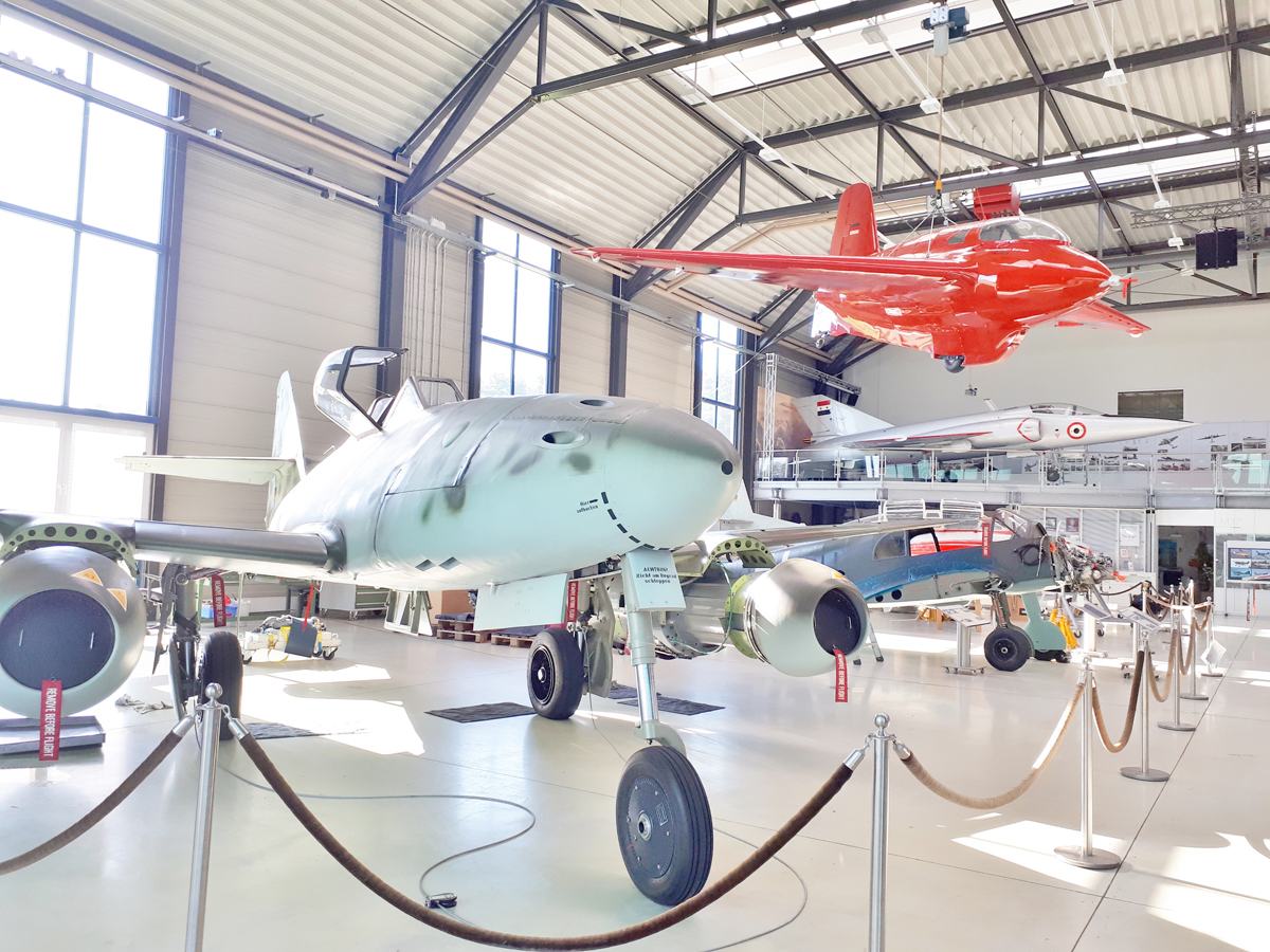 Besuch bei Airbus Defence and Space in Manching